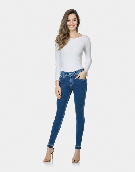 8928e5006 Calça Jeans Skinny Riviera Elastic Jeans